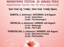 Humanitarni koncert za Perle 03.do 05.kolovoza 2019